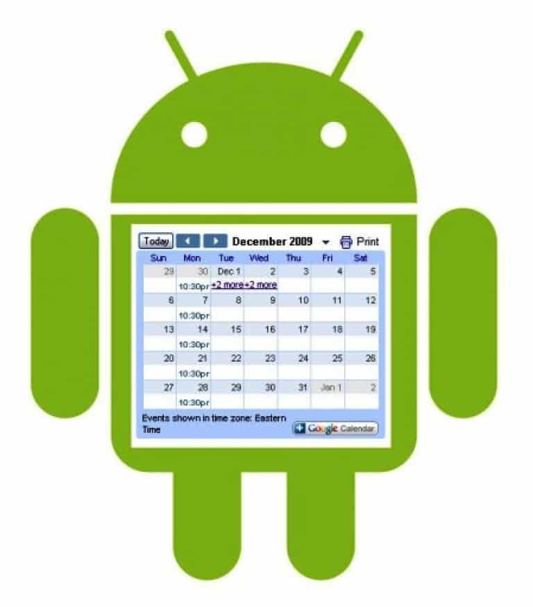 Изменение даты в устройствах с операционнной системой Android
