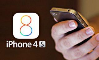 Как обновить IOS до 8-ой версии на iPhone 4