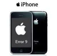 Решение ошибки 9 при восстановлении iphone 5s