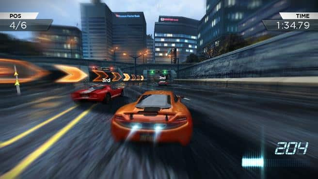 Need for Speed Most Wanted и Андроид