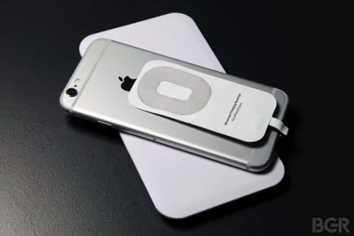 беспроводная зарядка айфона