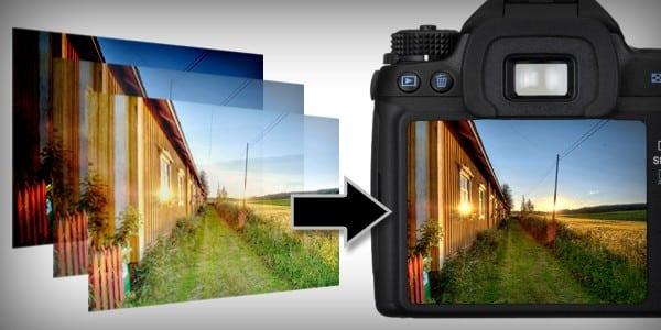 HDR на цифровой камере