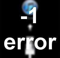 Неизвестная ошибка -1 при восстановлении iPhone